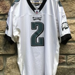 2005 David Akers Philadelphia Eagles Reebok Authentic NFL Jersey size 50