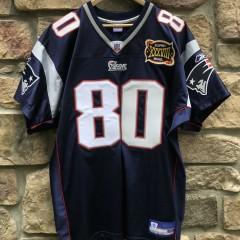 2004 Troy Brown New England Patriots authentic Reebok NFL Jersey super bowl XXXVIII size 50