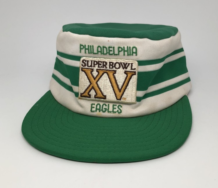 the latest 9c3b7 48ada 1980 Philadelphia Eagles Super Bowl XV NFL Pillbox Hat