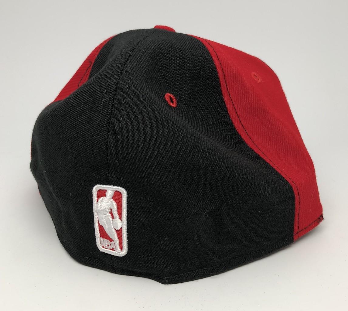 480793ca6d8 vintage 90 s Philadelphia Sixers 76ers New Era Pinwheel fitted hat size 7 3  8 deadstock