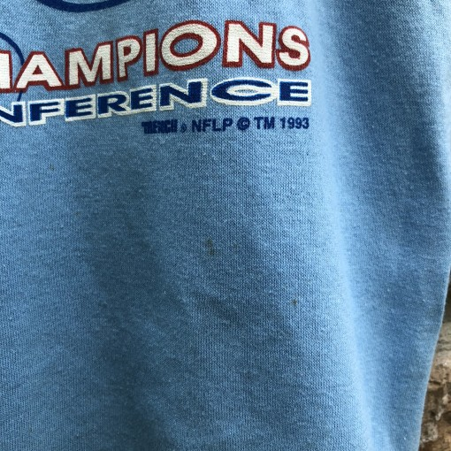 1993 Houston Oilers AFC Central Division Champion Size Medium Vintage t shirt
