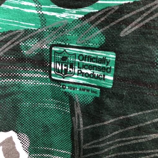 Vintage 1991 Randall Cunningham Philadelphia Eagles All over print deadstock 90's shirt