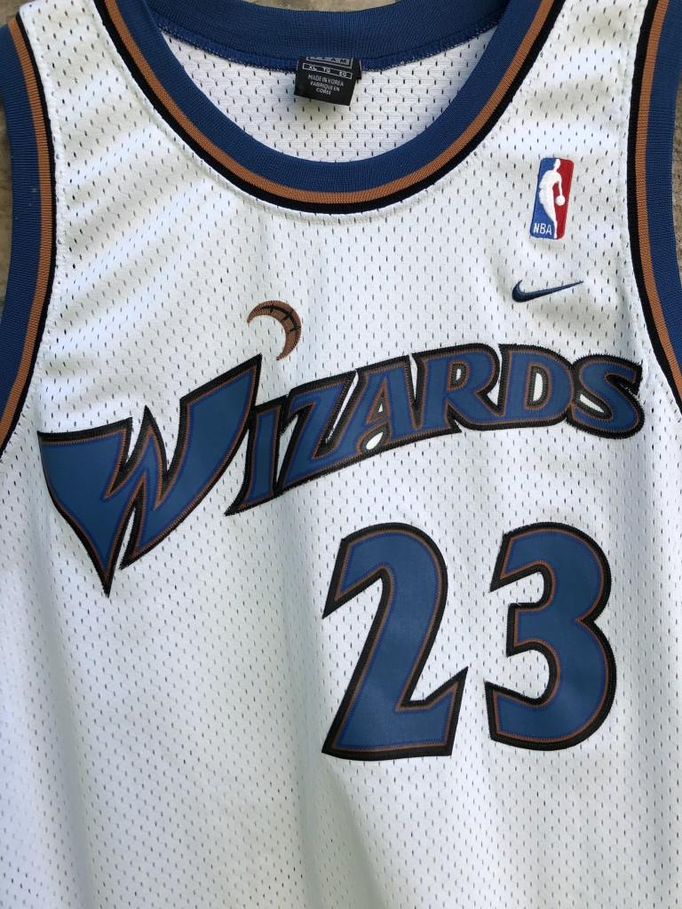 4682fe03 2001 Michael Jordan Washington Wizards Nike Swingman NBA Jersey size XL