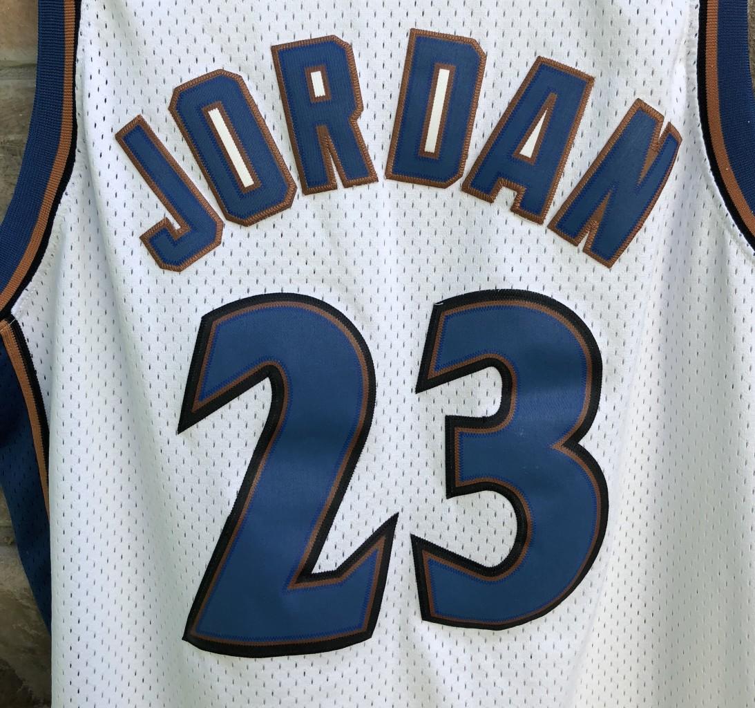 31bcc97346c 2001 Michael Jordan Washington Wizards Nike Swingman NBA Jersey size XL