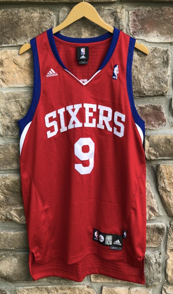 f441b084d 2012 Andre Iguodala Philadelphia Sixers NBA swingman jersey adidas size  small