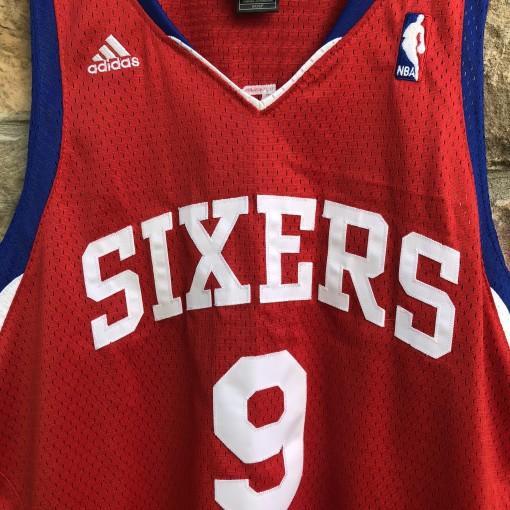 2012 Andre Iguodala Philadelphia Sixers NBA swingman jersey adidas size small