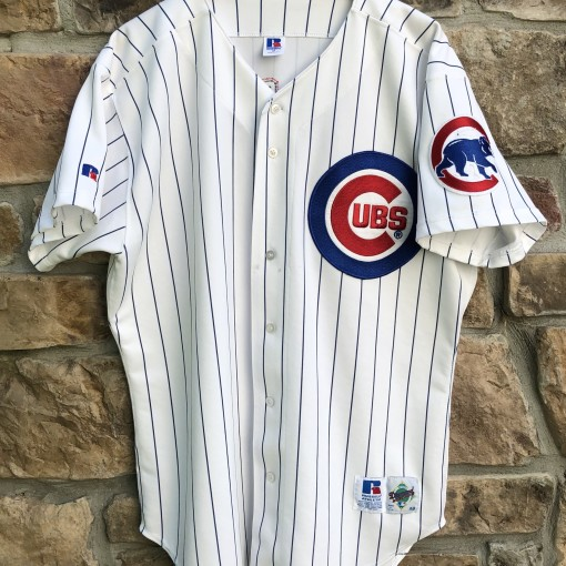 90's Sammy Sosa Chicago Cubs Russell Authentic Diamond collection MLB jersey size 48 XL vintage