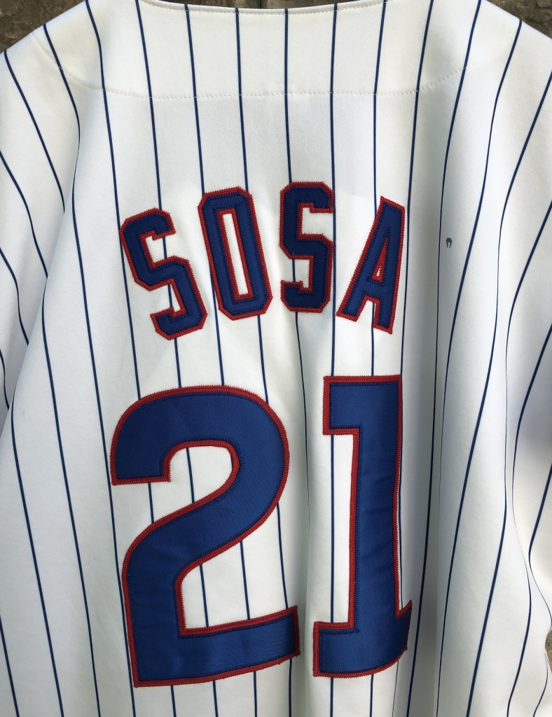 44a1ec018 90 s Sammy Sosa Chicago Cubs Russell Authentic Diamond collection MLB jersey  size 48 XL vintage
