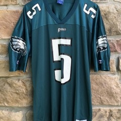 1999 Donovan McNabb Philadelphia Eagles Champion NFL Jersey size 48 XL vintage