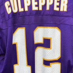 1999 Daunte Culpepper Minnesota Vikings Champion NFL jersey Size 44 Large #12 Rookie