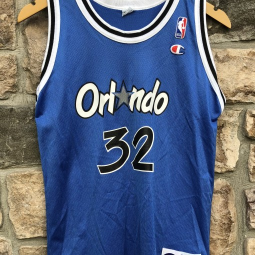 90's Shaq Orlando Magic Champion NBA Jersey youth size large