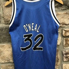 90's Shaq Orlando Magic Champion NBA Jersey youth size large
