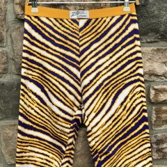90's Zubaz Bike Shorts La Lakers Minnesota Vikings Size Large vintage