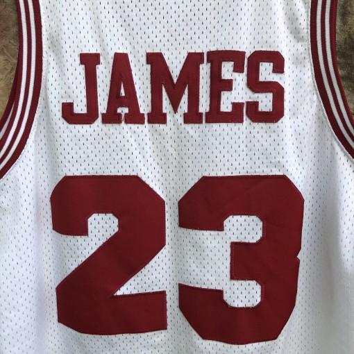 1972 Cleveland Cavaliers Lebron James Rewind Swingman NBA jersey size large