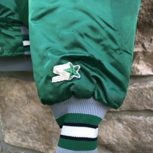 90's Philadelphia Eagles vintage starter satin bomber varsity jacket size large kelly green
