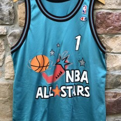 1996 Penny Hardaway Chilli Pepper NBA All Star jersey Champion vintage size 44 large