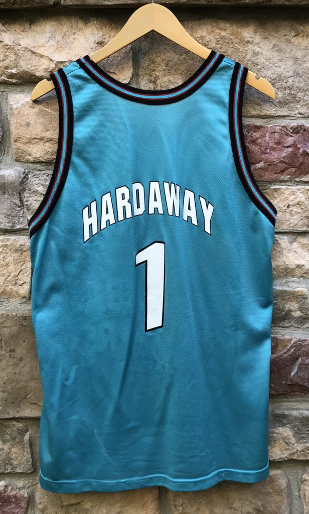 d8e6439d4c1 1996 Penny Hardaway Chilli Pepper NBA All Star jersey Champion vintage size  44 large
