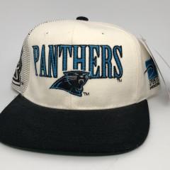 90's vintage Carolina Panthers Sports specialties laser dome NFL snapback hat OG
