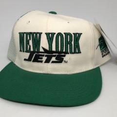 90's New York Jets Sports Specialties Laser dome NFL pro line vintage snapback hat OG