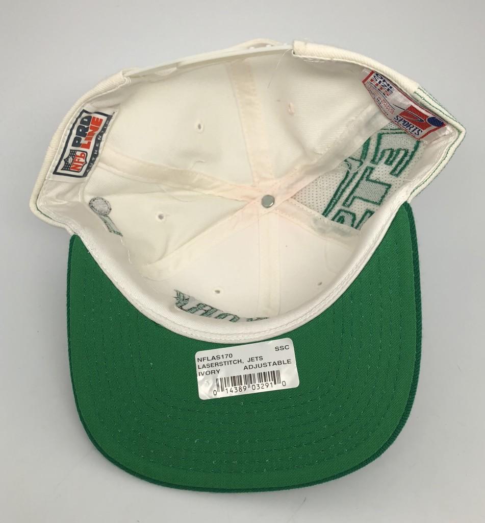 89f559965af 90 s New York Jets Sports Specialties Laser dome NFL pro line vintage  snapback hat OG