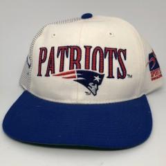 90's New England patriots Sports Specialties Laser dome NFL pro line vintage snapback hat OG