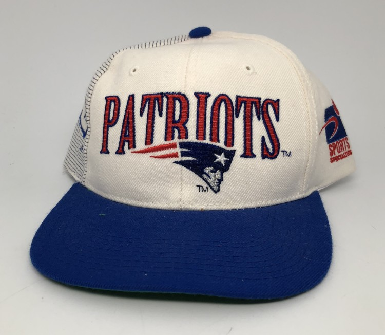 0e787147c 90's New England Patriots Laser Dome Sports Specialties NFL Snapback Hat