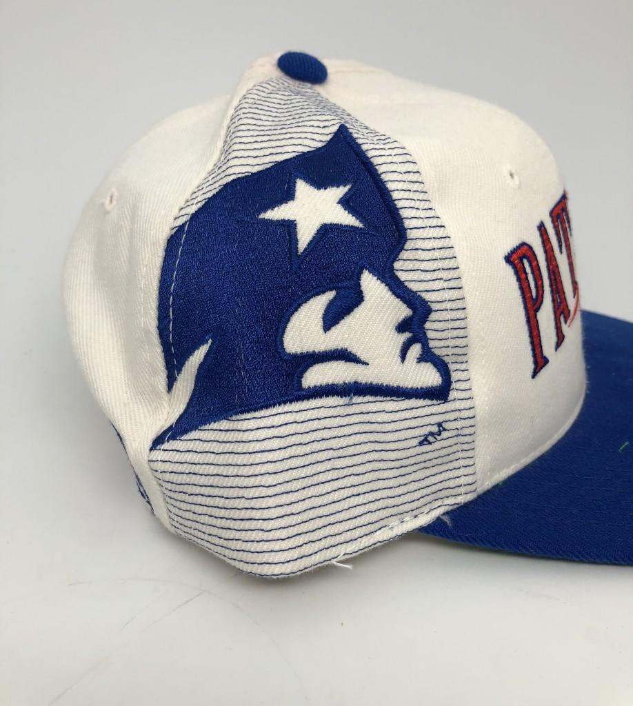 d2892b2f068 90 s New England patriots Sports Specialties Laser dome NFL pro line vintage  snapback hat OG