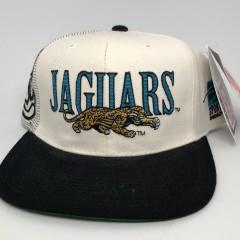 90's Jacksonville Jaguars Sports Specialties Laser dome NFL pro line vintage snapback hat OG