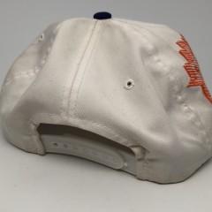 90's vintage Fed Ex Orange Bowl NCAA snapback hat OG Laser dome Sports Specialties