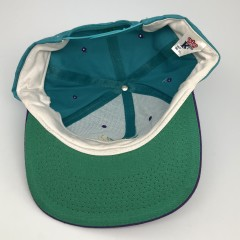 90's Chronic Weed leaf vintage og snapback hat aqua purple