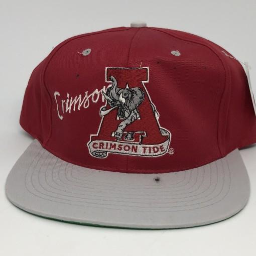 90's Alabama Crimson Tide NCAA snapback  vintage OG