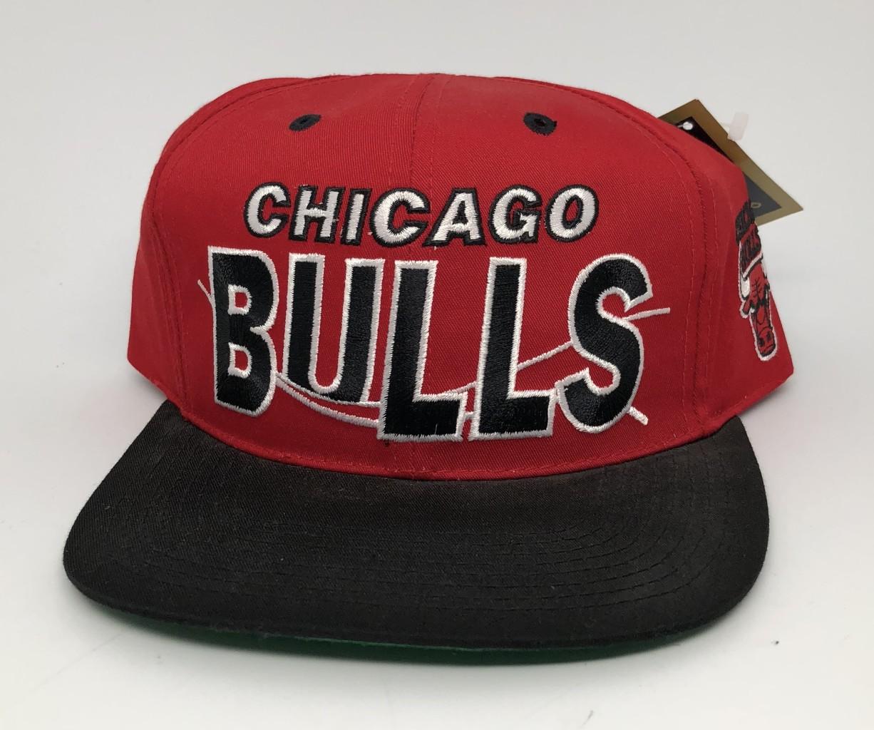 e1800948a32 90 s Chicago Bulls G Cap vintage NBA snapback hat OG