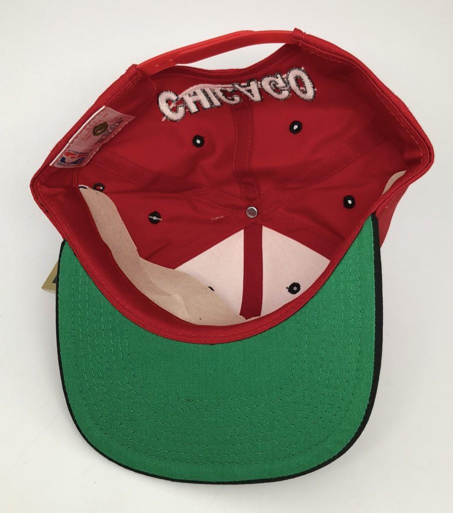 389c77d49df09 90 s Chicago Bulls G Cap vintage NBA snapback hat OG