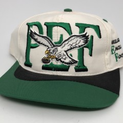 90's Philadelphia Eagles Football club nfl snapback hat og vintage