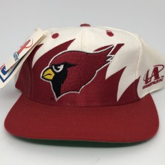 90's Arizona Cardinals sharktooth NFL snapback hat deadstock vintage OG