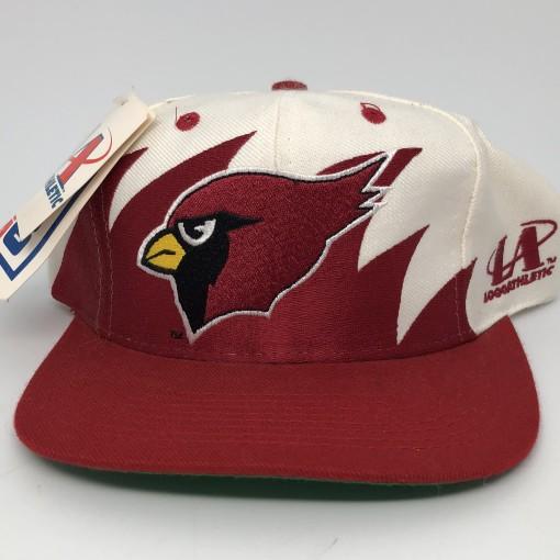 90's Arizona Cardinals sharktooth NFL snapback hat deadstock vintage OG