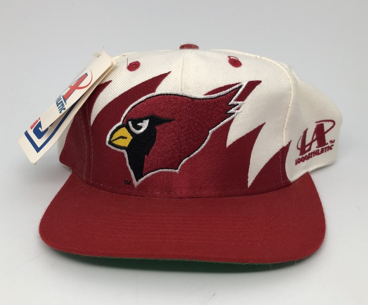 8310e002 90's Arizona Cardinals sharktooth NFL snapback hat deadstock vintage OG