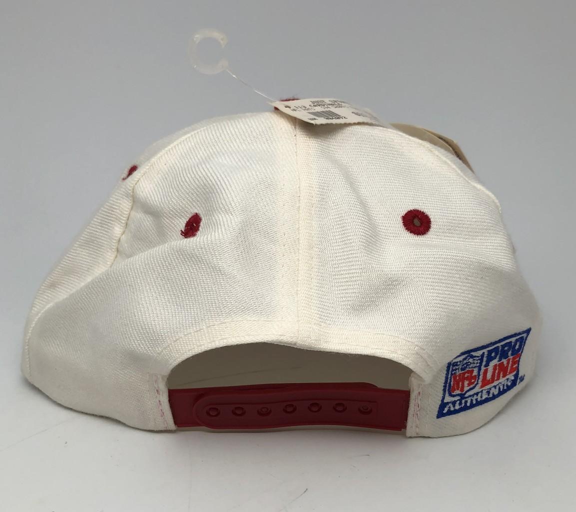 5817724c8 90's Arizona Cardinals Logo Athletic Sharktooth NFL Snapback Hat
