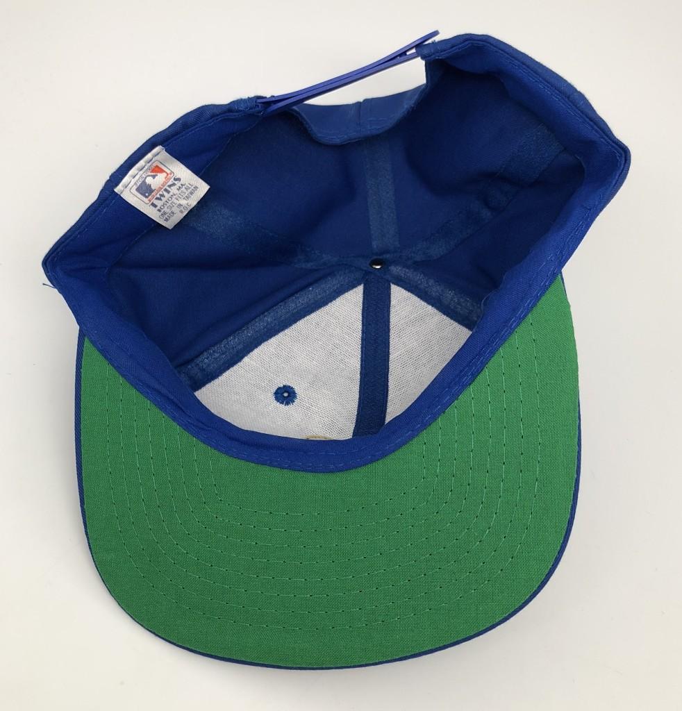 80 s Milwaukee Brewers Twins Plain Logo MLB Snapback Hat  a4f027ca21b9