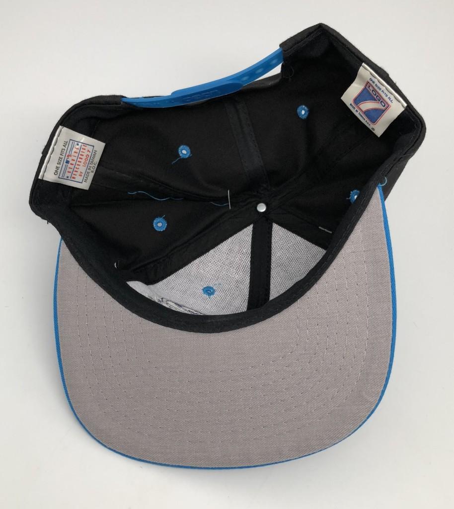 7a453ecc377 90 s Tampa Bay Devil Rays Logo 7 vintage MLB snapback hat deadstock vintage