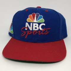 90's NBC Sports deadstock sports specialties snapback hat