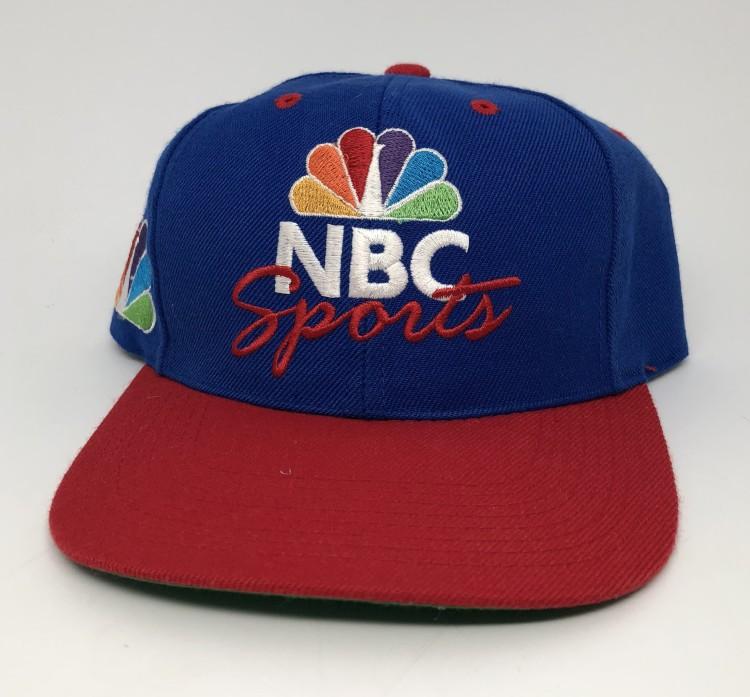 40a0d42982c 90 s NBC Sports deadstock sports specialties snapback hat