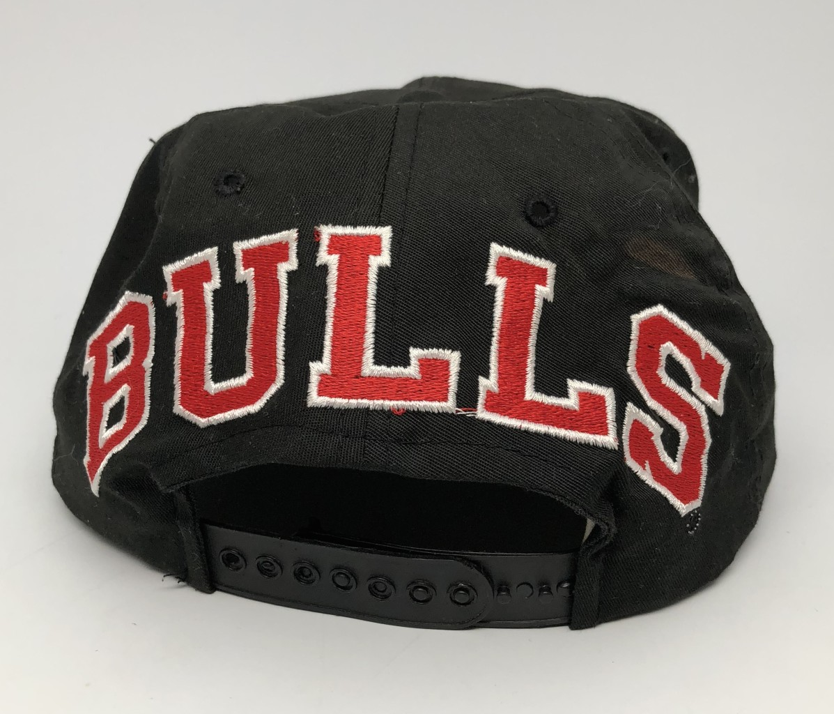 60114e3fb 90's Chicago Bulls Blockhead NBA Snapback Hat