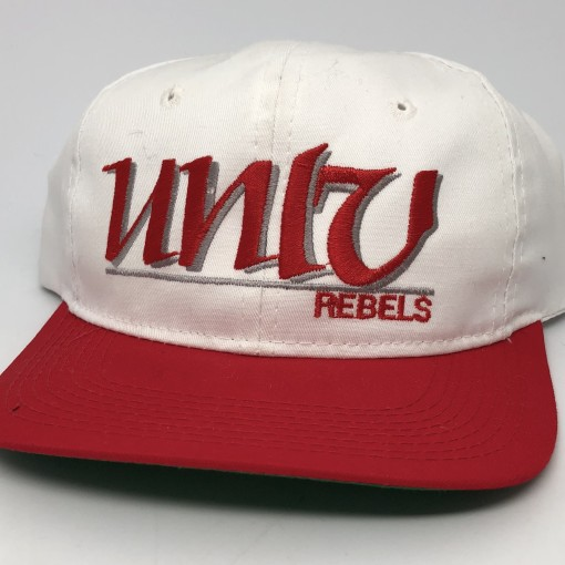 90's UNLV running rebels the game ncaa snapback hat