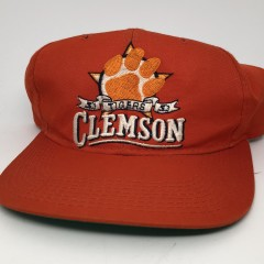 80's Clemson tigers starter ncaa vintage snapback hat