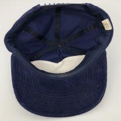 80's Villanova Wildcats NCAA corduroy snapback hat