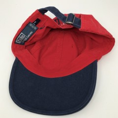 90's Polo Ralph Lauren USA flag strapback hat