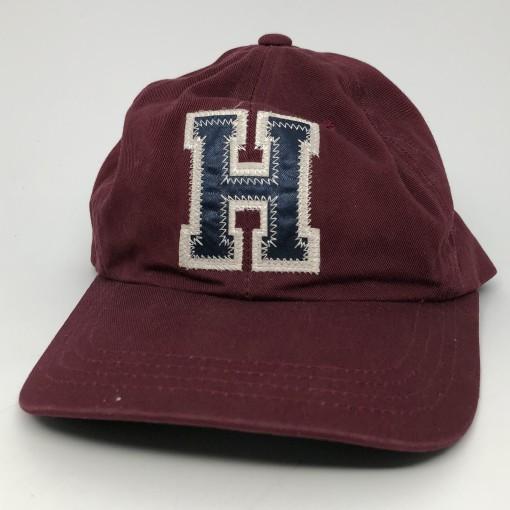 90's Tommy Hilfiger vintage H hat maroon strapback