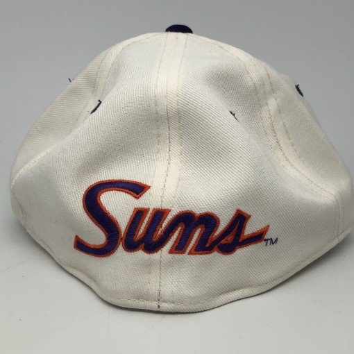 90's Phoenix Suns Sports Specialties NBA fitted hat vintage size 7 3/8