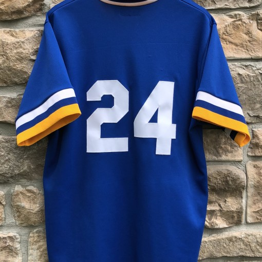 vintage 80's Seattle Mariners Ken Griffey Jr Mitchell and Ness Authentic MLB jersey size large